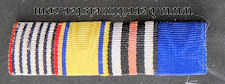RIBBON BAR -FOUR PLACE - Imperial German Military Antiques Sale