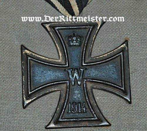 IRON CROSS STORAGE BOX - Imperial German Military Antiques Sale