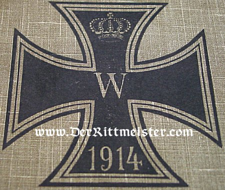 PATRIOTIC BOX - HIGHLIGHTING THE 1914 IRON CROSS - Imperial German Military Antiques Sale