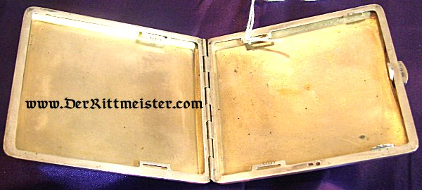 CIGARETTE CASE - FRANCO-PRUSSIAN WAR ERA - Imperial German Military Antiques Sale