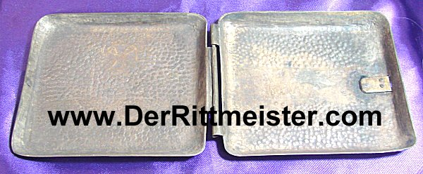 """CIGARETTE CASE - featuring an Iron Cross and """"Verdun 1916 - Imperial German Military Antiques Sale"""