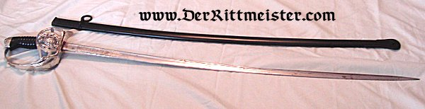 NCO SWORD - GARDE-REITER-REGIMENT - SAXONY - Imperial German Military Antiques Sale
