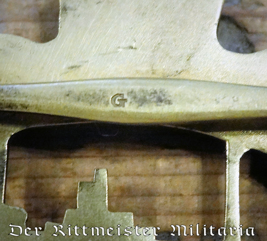 GODET HALLMARKED U-BOOT BADGE - Imperial German Military Antiques Sale