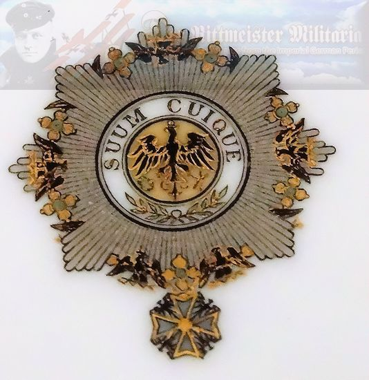 BREAD/DESSERT PLATE FROM KAISER WILHELM II'S KAISERLICHER YACHT CLUB (KYC) RACING SLOOP S. M. Y. IDUNA. - Imperial German Military Antiques Sale