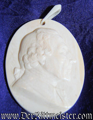 """CAMEO"" OF FREDERICK THE GREAT - Imperial German Military Antiques Sale"