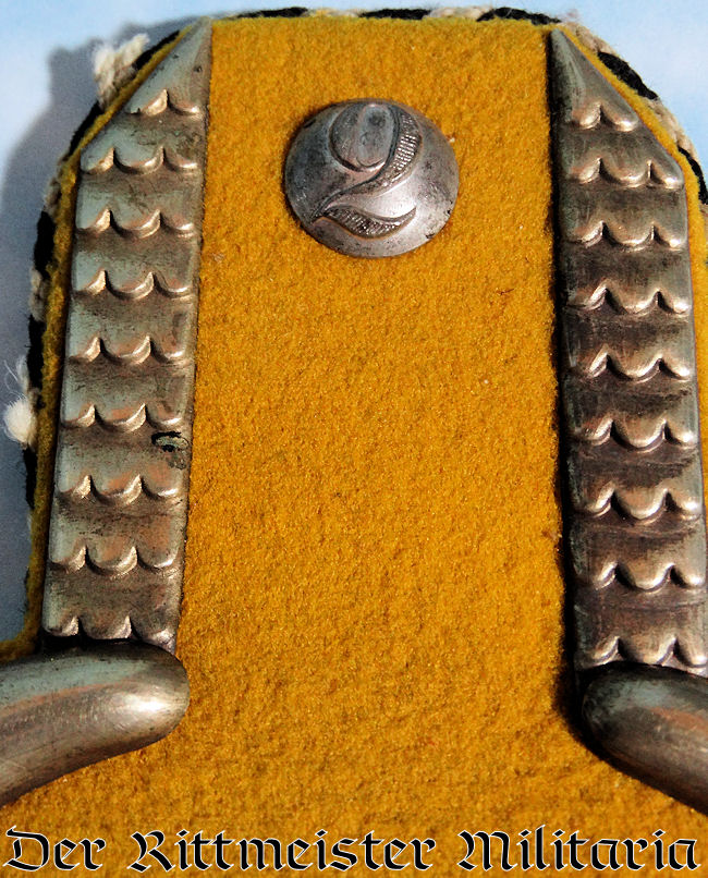 3rd GARDE-ULANEN-REGIMENT ONE-YEAR-VOLUNTEER'S EPAULETTES - PRUSSIA - Imperial German Military Antiques Sale