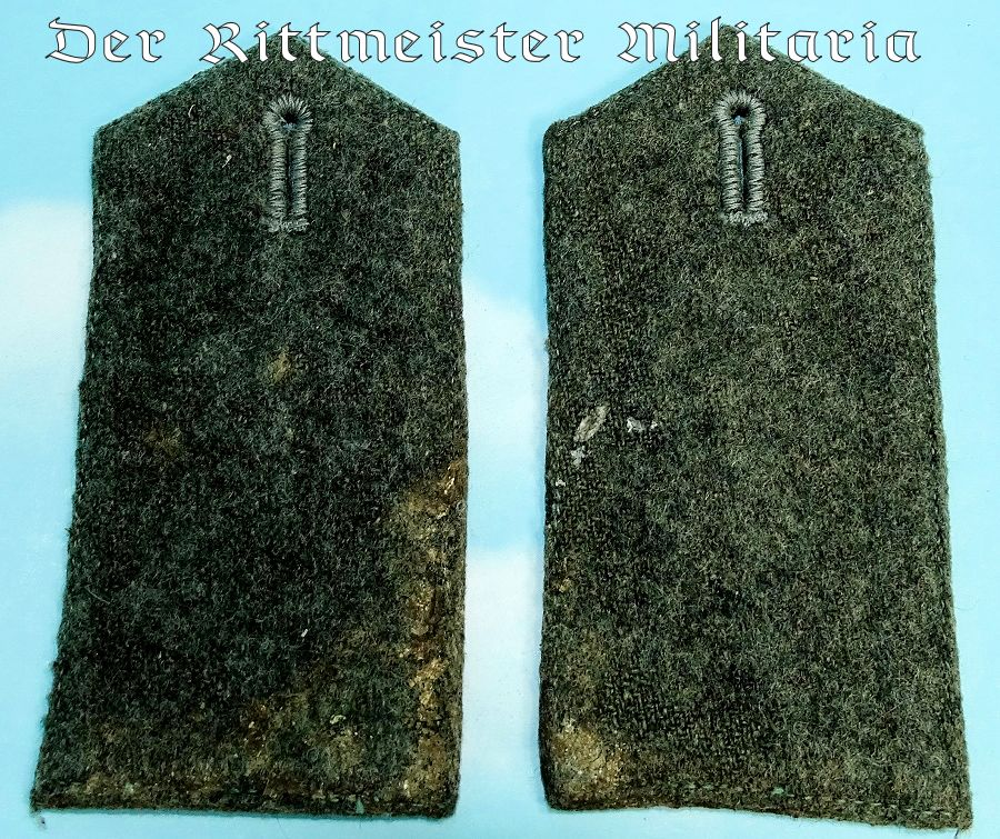 ENLISTED MAN/NCO'S FLIEGER-ABTEILUNG SHOULDER STRAPS - Imperial German Military Antiques Sale