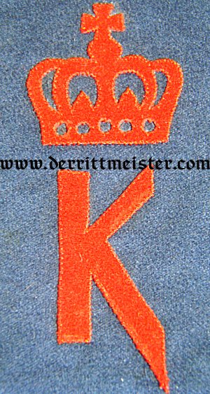 SINGLE ENLISTED MAN SHOULDER STRAP - INFANTERIE-REGIMENT Nr 88 - PRUSSIA - Imperial German Military Antiques Sale