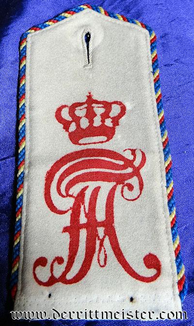 SINGLE GRENADIER-REGIMENT Nr 89 ONE-YEAR-VOLUNTEER'S SHOULDER STRAP - MECKLENBURG-SCHWERIN - Imperial German Military Antiques Sale