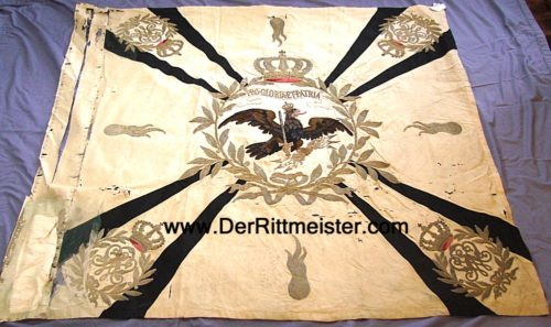 INFANTERIE-REGIMENT STANDARD - PRUSSIA - Imperial German Military Antiques Sale
