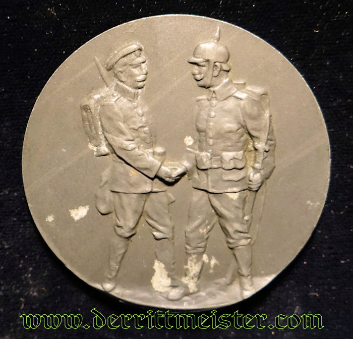 TABLE MEDAL - GENERALFELDMARSCHALL AUGUST von MACKENSEN - Imperial German Military Antiques Sale