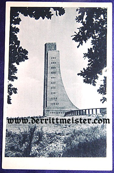 POSTCARD - NAVY MEMORIAL - KIEL - Imperial German Military Antiques Sale