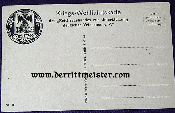 COLOR POSTCARD - HERZOG ALBRECHT - WÜRTTEMBERG - Imperial German Military Antiques Sale