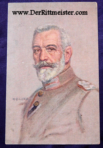 POSTCARD - CHANCELLOR von BETHMANN-HOLLWEG - Imperial German Military Antiques Sale