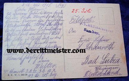 POSTCARD - ERZHERZOG CARL FRANZ JOSEF & FAMILY - AUSTRIA - Imperial German Military Antiques Sale