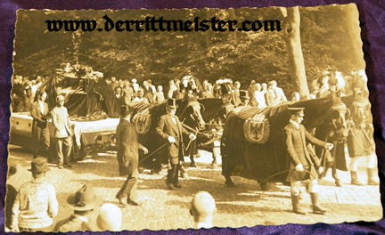 POSTCARD - FUNERAL - PRINZ FRIEDRICH SIGISMUND - Imperial German Military Antiques Sale