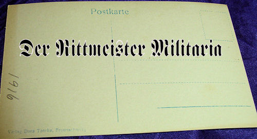 POSTCARD - DUCHESS - BRAUNSCHWEIG - TWO CHILDREN - Imperial German Military Antiques Sale