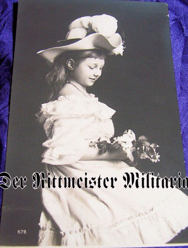 POSTCARD - PRINCESS VIKTORIA LUISE - PRUSSIA - Imperial German Military Antiques Sale