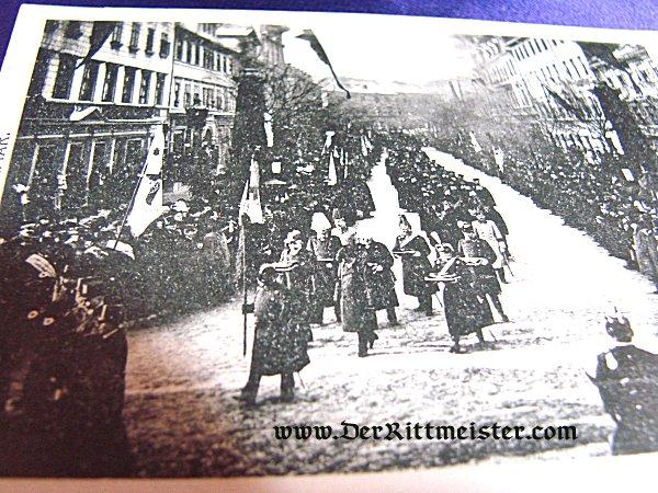 POSTCARD - FUNERAL - GRAND DUKE CARL ALEXANDER - SAXE-COBURG-GOTHA - Imperial German Military Antiques Sale
