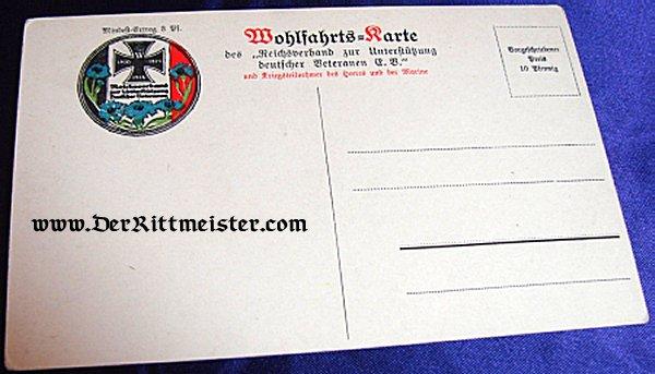 POSTCARD - DR. von BUFF - BÜRGERMEISTER - BREMEN - Imperial German Military Antiques Sale