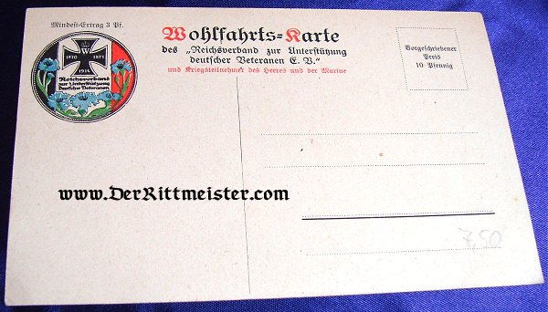 POSTCARD - HERR ESCHENBURG - BÜRGERMEISTER - LÜBECK - Imperial German Military Antiques Sale