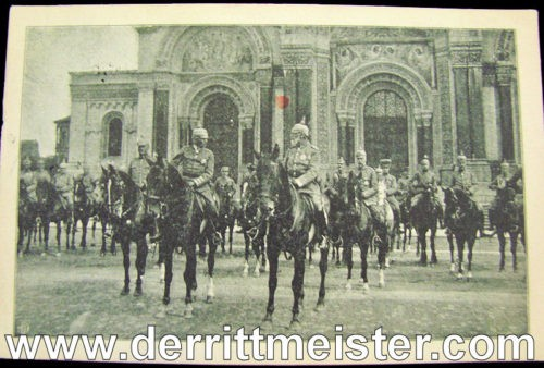 POSTCARD - BAVARIA'S PRINZ LEOPOLD - Imperial German Military Antiques Sale