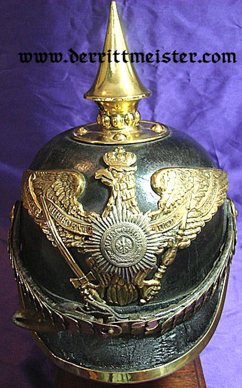 PRUSSIA - PICKELHAUBE - ENLISTED MEN/NCO'S - M1871 - 2. GARDE-REGIMENT zu FUß - Imperial German Military Antiques Sale