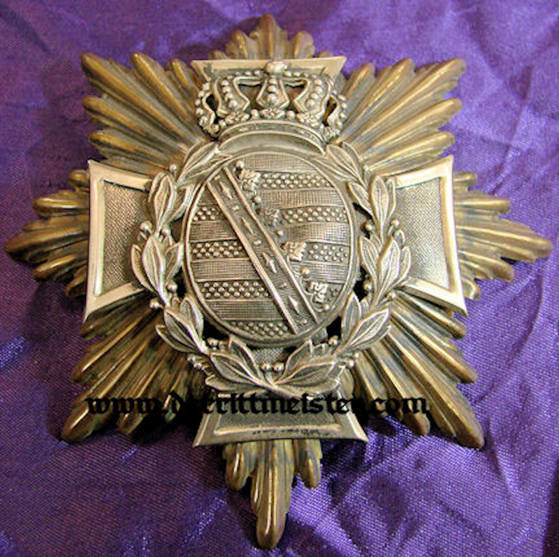 WAPPEN - SAXONY - RESERVE OFFICER - LINE-INFANTRY REGIMENT - Imperial German Military Antiques Sale