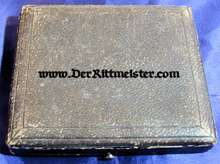 PAIR - AUSTRIAN OFFICER'S DECORATIONS - DELUXE PRESENTATION CASE - Imperial German Military Antiques Sale