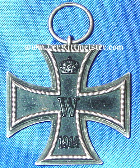 1914 IRON CROSS 2nd CLASS WITHOUT RIBBON - Imperial German Military Antiques Sale