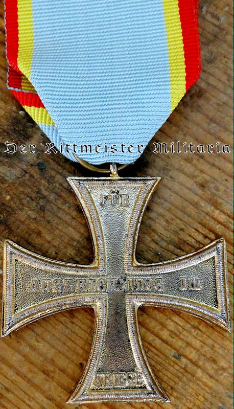 COMBATANT'S WAR SERVICE CROSS 2nd CLASS - MECKLENBURG-SCHWERIN. - Imperial German Military Antiques Sale