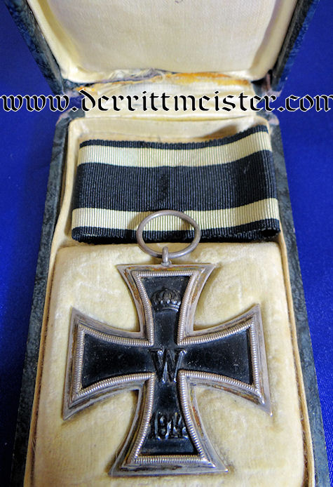 1914 IRON CROSS 2nd CLASS WITH PRESENTATION CASE - Imperial German Military Antiques Sale