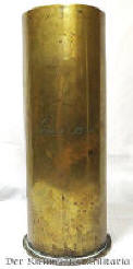 GERMAN 77mm ARTILLERY SHELL CASING TRENCH ART VASE - Imperial German Military Antiques Sale