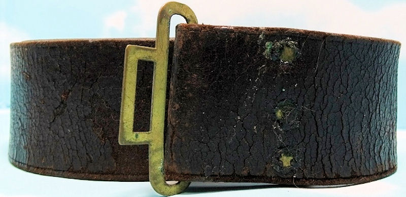 LEATHER BELT - Imperial German Military Antiques Sale