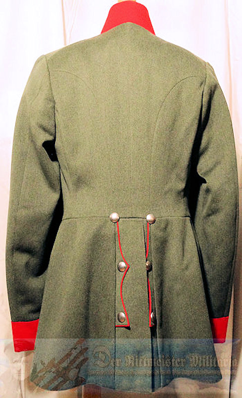 WÜRTTEMBERG - HAUPTMAN - FELDGRAU TUNIC - M-1910 INFANTERIE-REGIMENT Nr 121 -  ATTACHED TO GREAT GERMAN GENERAL STAFF - Imperial German Military Antiques Sale