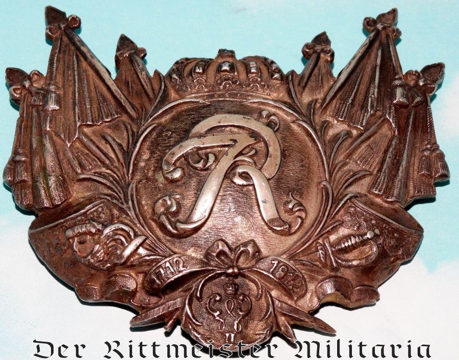 REGIMENT der GARDE du CORPS ENLISTED MAN/NCO'S KÜRAß EMBLEM - Imperial German Military Antiques Sale