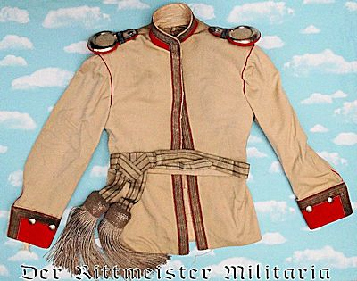 PRUSSIA - DRESS KOLLAR AND SASH - OFFICER'S - KÜRAßIER-REGIMENT Nr 4 - Imperial German Military Antiques Sale