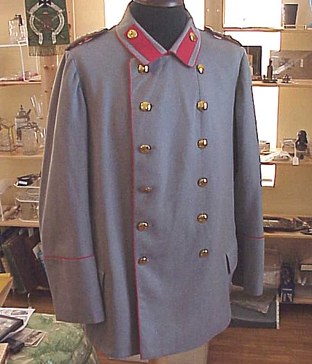 PRUSSIA - TUNIC - GENERALLEUTNANT - HELLGRAU LITEWKA - Imperial German Military Antiques Sale