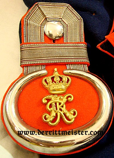 ULANEN-REGIMENT Nr 19 FULL PARADE CONFIGURATION LEUTNANT'S ULANKA - WÜRTTEMBERG - Imperial German Military Antiques Sale