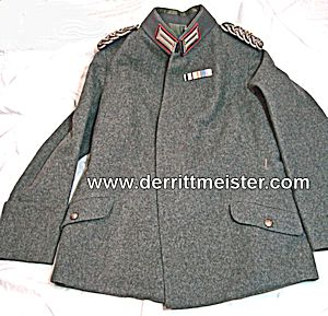 M-1915 GENERALARZT FELDBLUSE FELDGRAU TUNIC - PRUSSIA - Imperial German Military Antiques Sale