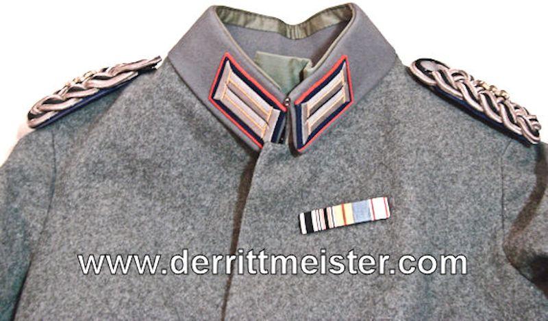 M-1915 GENERALARZT FELDBLUSE FELDGRAU TUNIC - PRUSSIA - Imperial German Military Antiques Sale
