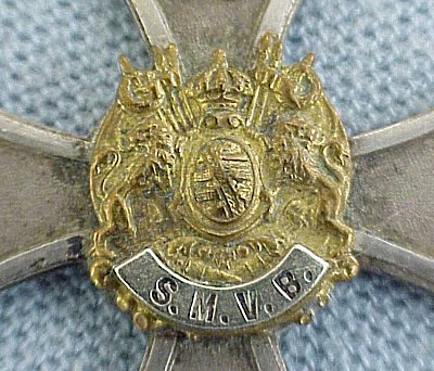 SAXON - VETERANS MEDAL - Imperial German Military Antiques Sale