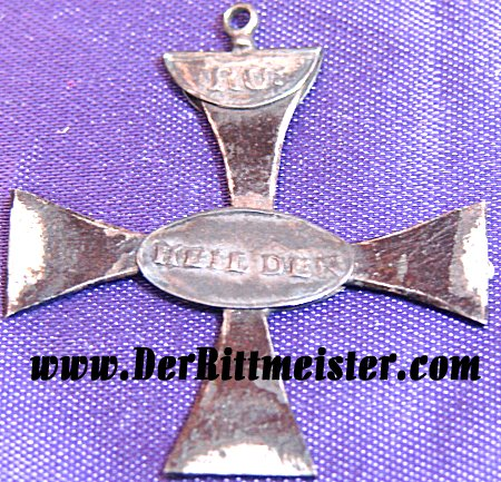 PRUSSIA- 1813 GOLD FOR IRON CROSS - PRINZESSIN MARIANA - Imperial German Military Antiques Sale