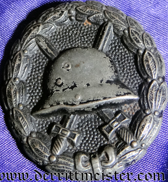 ARMY WOUND BADGE - BLACK - Imperial German Military Antiques Sale