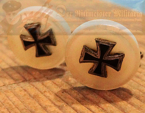IRON CROSS - CUFF LINKS - Imperial German Military Antiques Sale