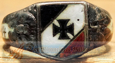 PATRIOTIC RING - IRON CROSS