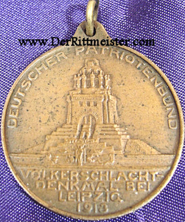 MEDAL - DEUTSCHER PATRIOTENBUND - Imperial German Military Antiques Sale