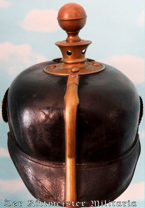 BAVARIA - KUGELHELM - ONE-YEAR-VOLUNTEER - Imperial German Military Antiques Sale