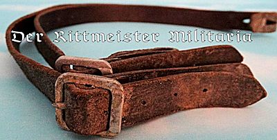 M-1916/M-1917/M-1918 STAHLHELME CHINSTRAPS - Imperial German Military Antiques Sale