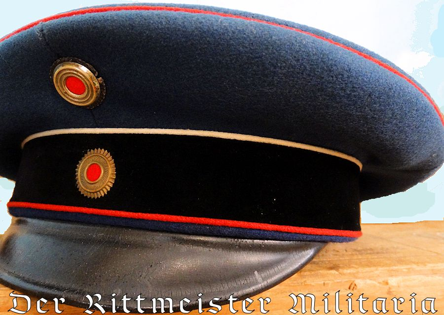 BADEN - SCHIRMÜTZE - OFFICER - DRAGONER-REGIMENT Nr 22 - Imperial German Military Antiques Sale